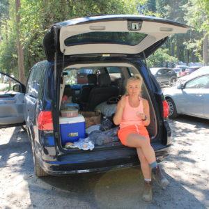 Trekking W Yosemite
