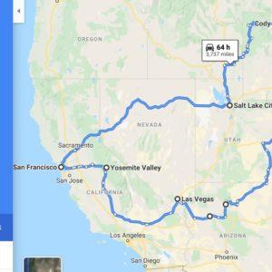 Road Trip W USA